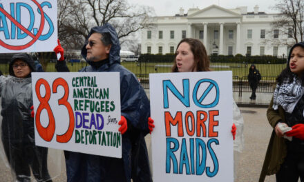 #StopTheRaids Peaceful Demonstration