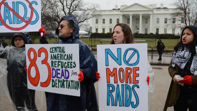 #STOPTHERAIDS DEMOSTRACIÓN PACÍFICA